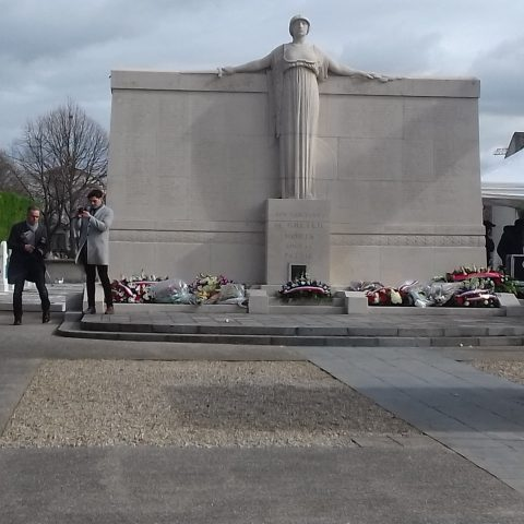 Participation aux commémorations du 11 mars